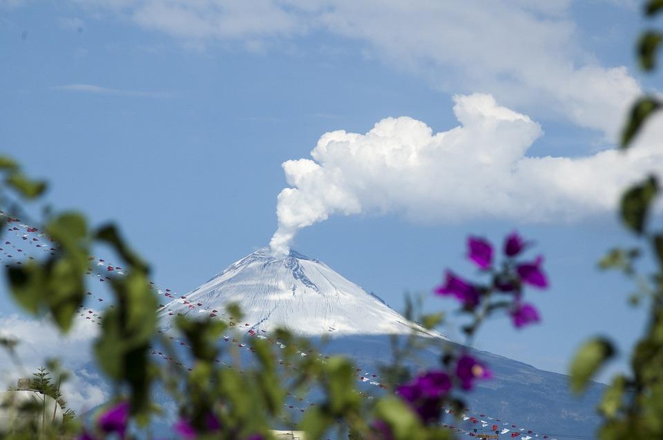 Popocatepetl, Mexico, Volcano, Mexican, Landscape