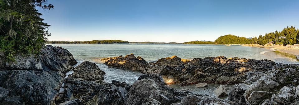 Panorama, Beach, Ocean, Nature, Water, Landscape