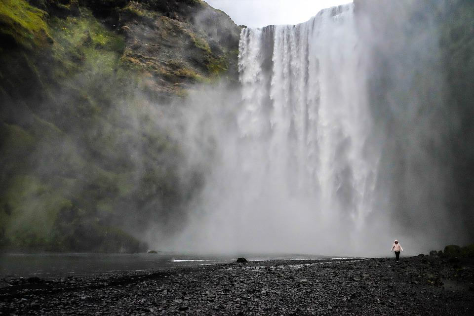 Waterfall, River, Iceland, Landscape, Nature, Brook