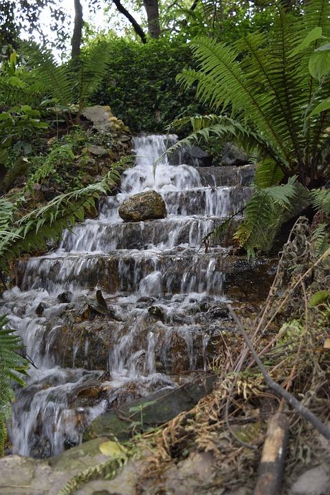 Water, Waterfall, Landscape, Nikon D5300
