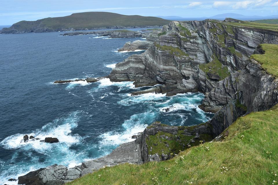 Coast, Sea, Waters, Nature, Landscape, Ireland, Scenic