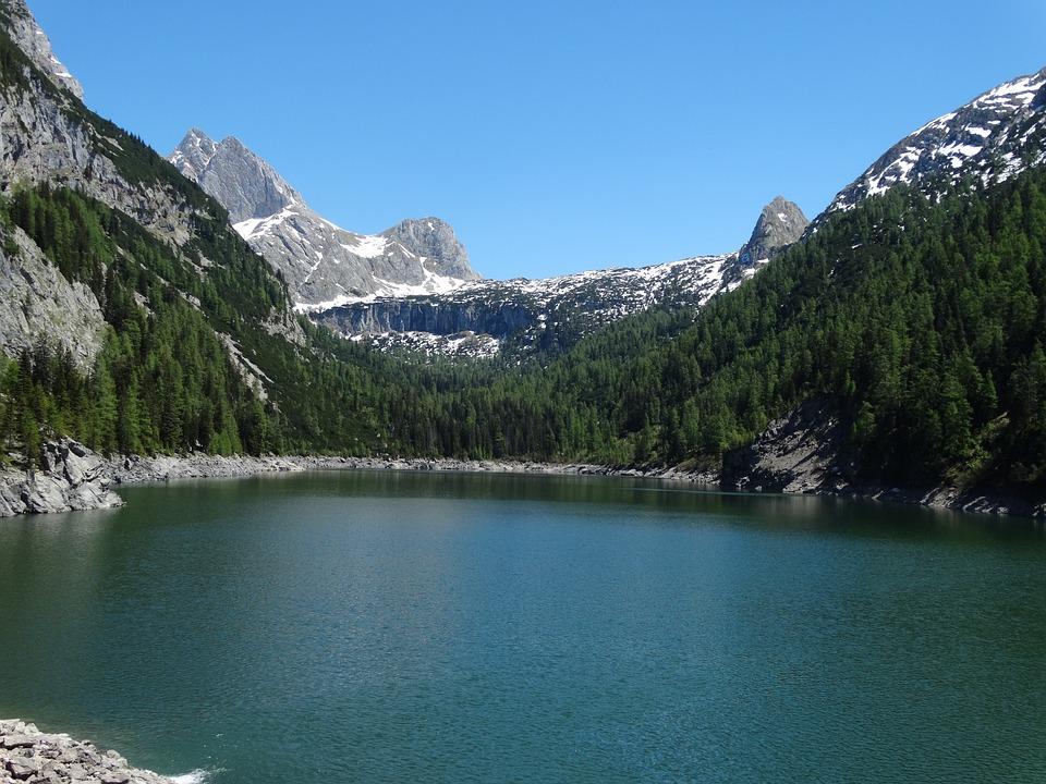 Mountains, Lake, Nature, Landscape, Waters, Dolomites