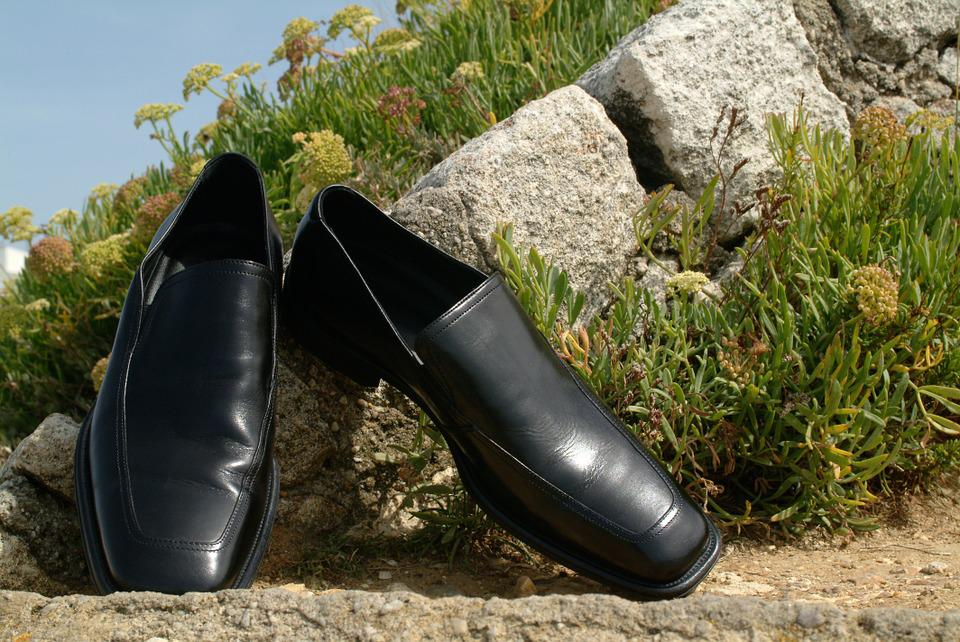 Shoes, Wedding, Landscape, Nature, Leather Shoes