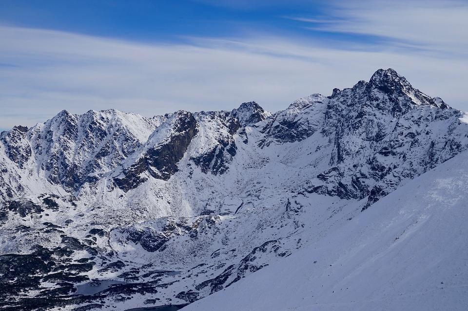 Mountains, Snow, Winter, Tatry, White, Landscape, View