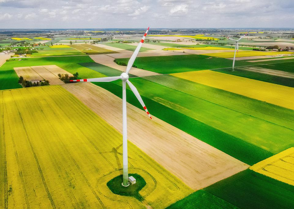 Windmill, Field, Landscape, The Windmills, Agriculture