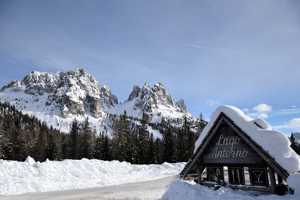 Snow, Winter, Mountain, Cold, Ice, Alpine, Landscape