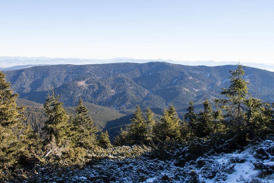 Transylvania, Winter, Romania, Mountain, Landscape