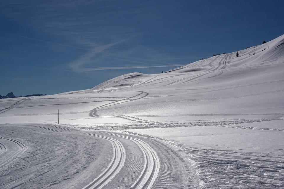 Winter, Snow, Sky, Nature, Cold, Landscape, Alpine