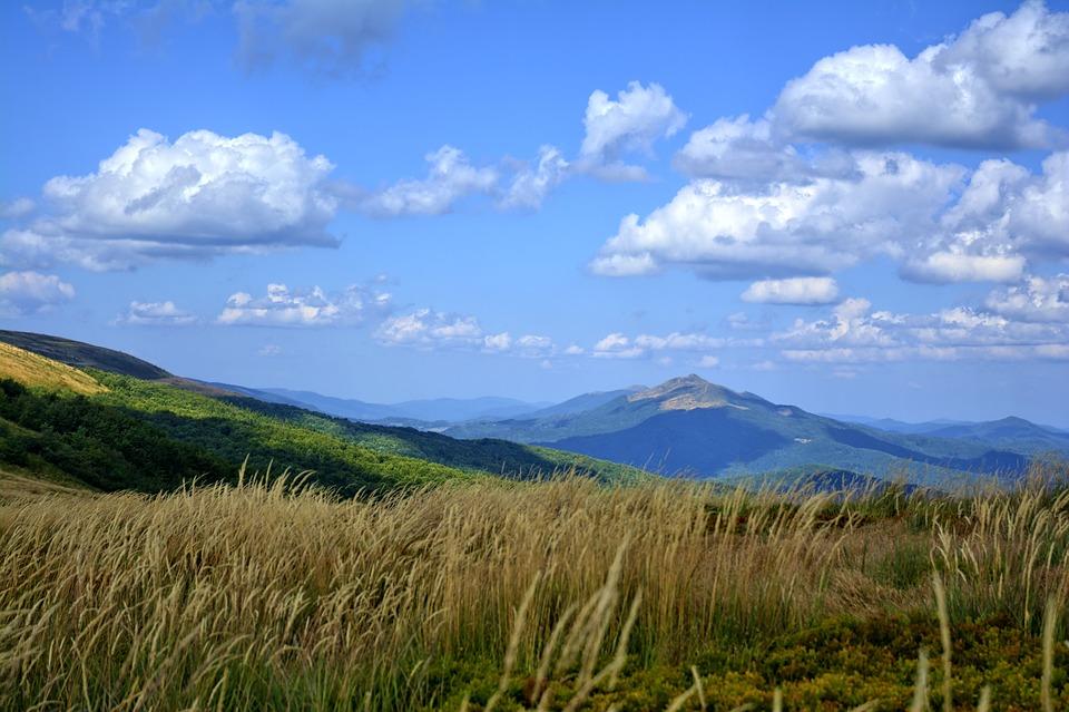 Bieszczady, Wołosate, Mountains, Sky, Landscape, Tour