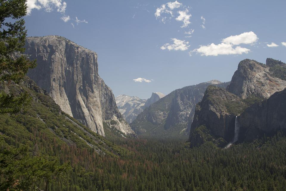 Yosemite Valley, Yosemite, Scenic, Park, Landscape