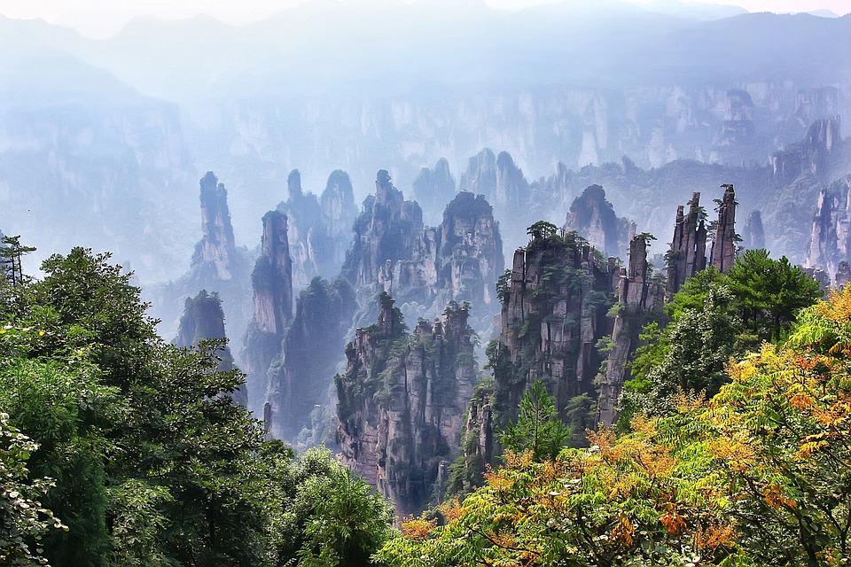 Zhangjiajie, Landscape, Travel, Mountain, Superb View