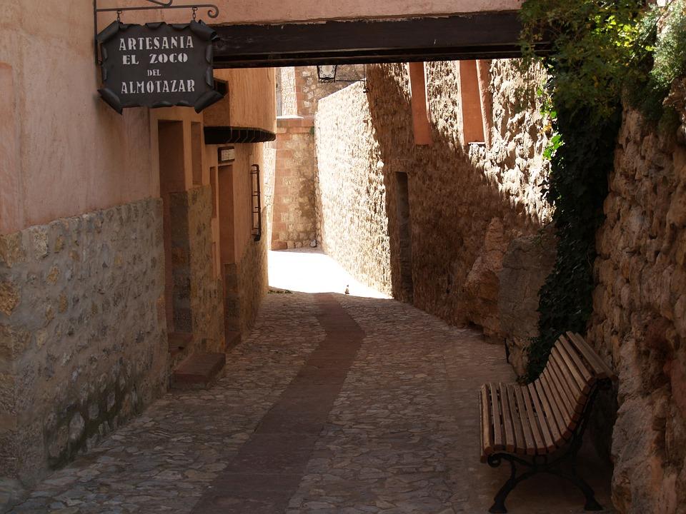 Albarracín, Lane, Medieval Village