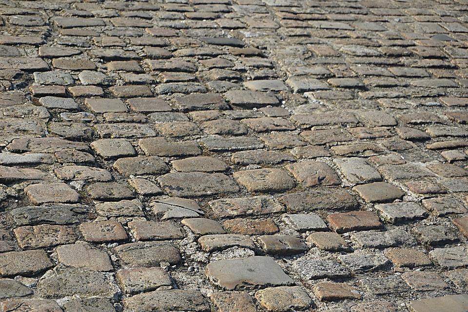 Pavers, Street, City, Lane, Pierre, Old, Medieval City