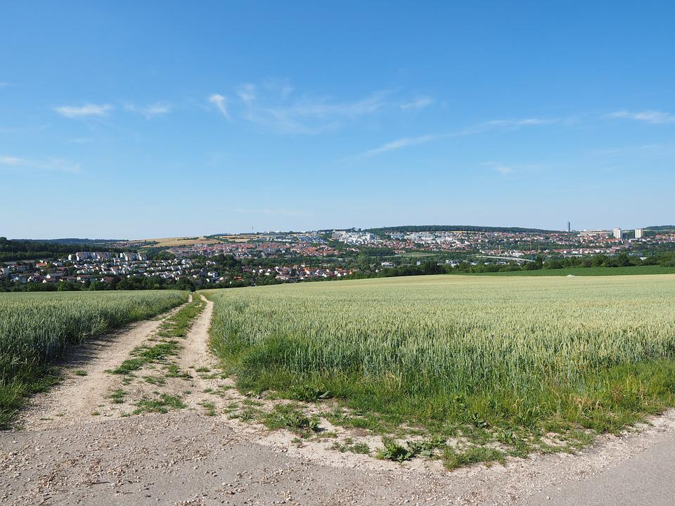 Lane, Away, Nature, Landscape, Vision, Outlook, Ulm
