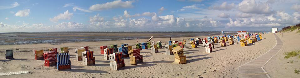 Langeoog, East Frisian Island, Beach, Beach Chair