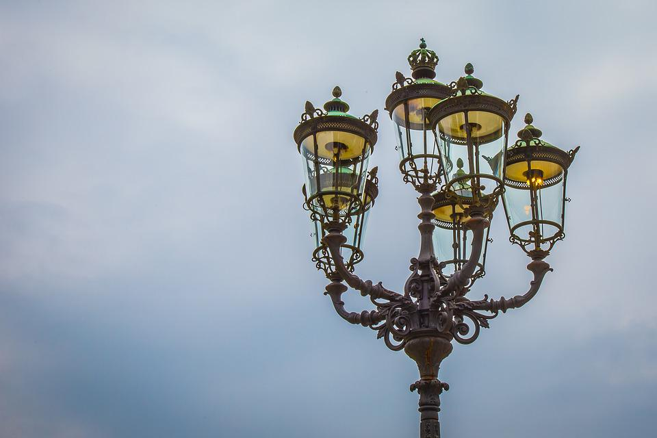 Lantern, Baden Baden, Kurhaus, Lighting, Street Lamp
