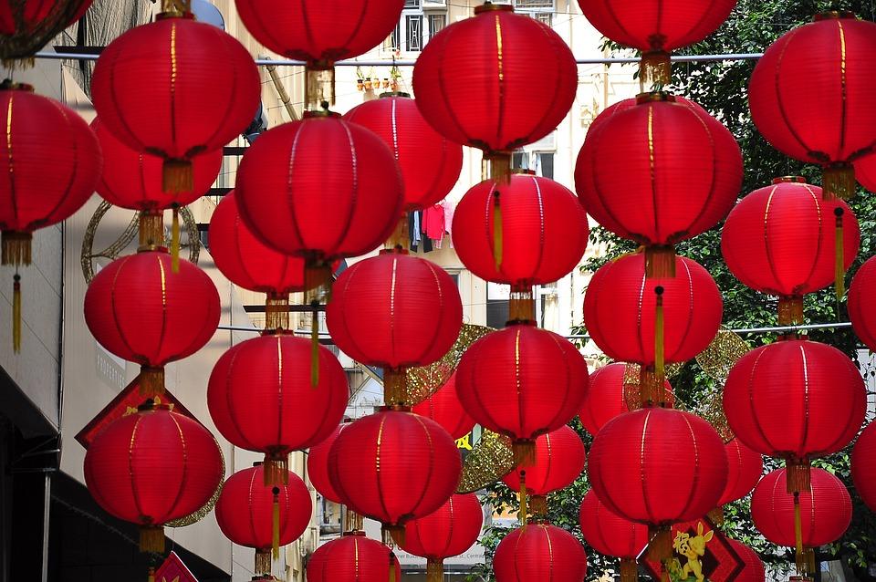 Hong Kong, Lantern, Day, Chinese New Year
