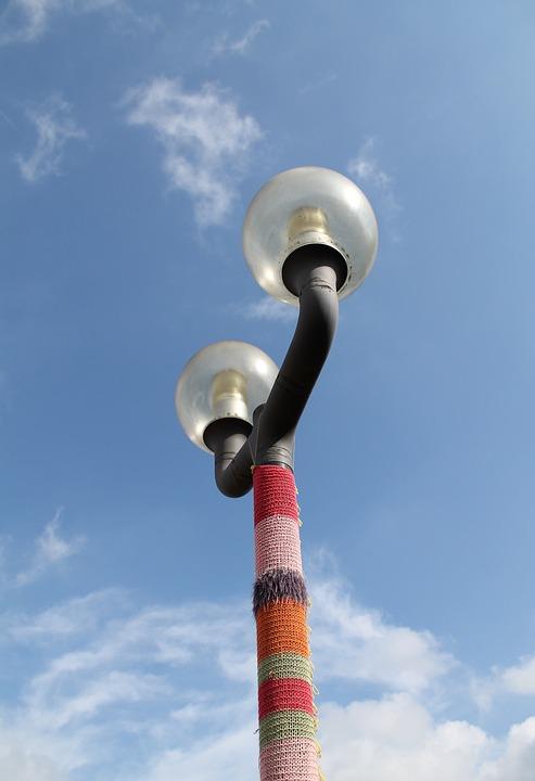 Knit, Lantern, Art, Hand Labor, Colorful, Lamp
