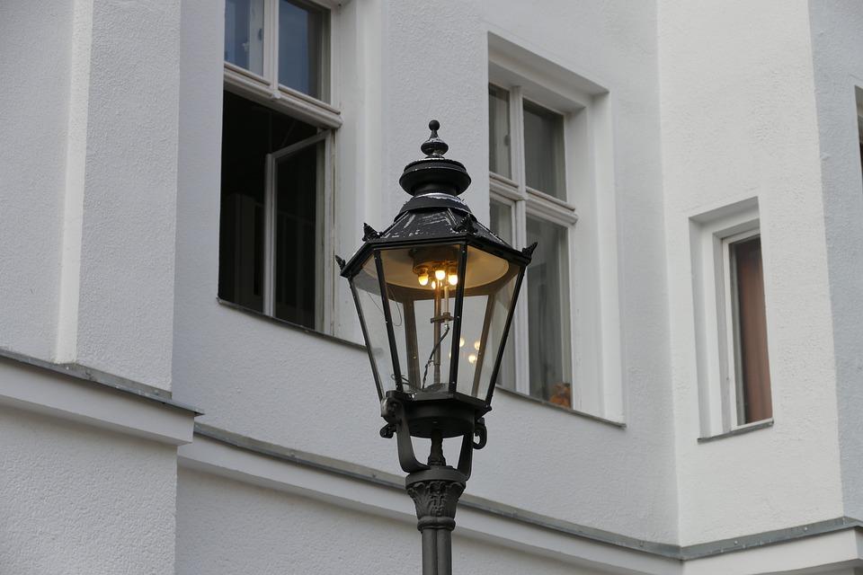 Berlin, Gas Lantern, Street Lighting, Light, Lantern