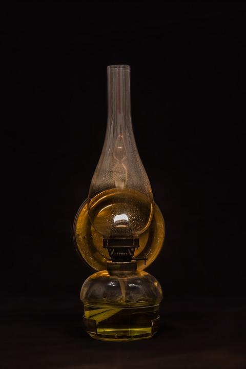 Kerosene Lamp, Lamp, Light, Lighting, Oil Lamp, Lantern