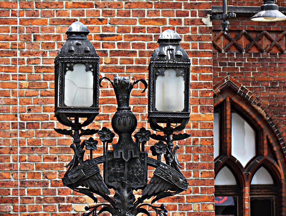 Lantern, Architecture, Kołobrzeg, City, Old Town