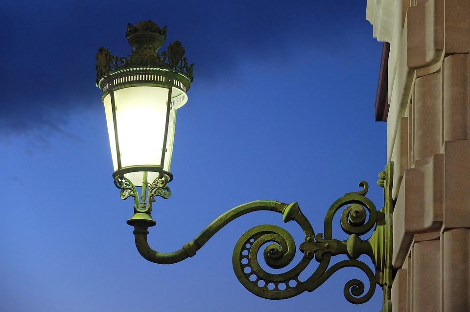 Street Light, Lamp, Lantern, Old, Light, Retro, Night