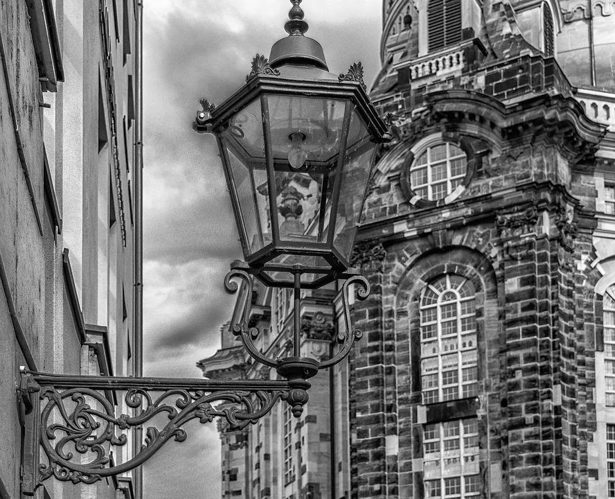 Lantern, Lighting, Street Lamp, Schmie­de­ei­sern