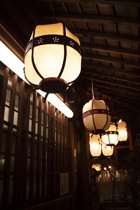 Kyoto, Lantern, Temple, Shrine, Japanese, Lanterns