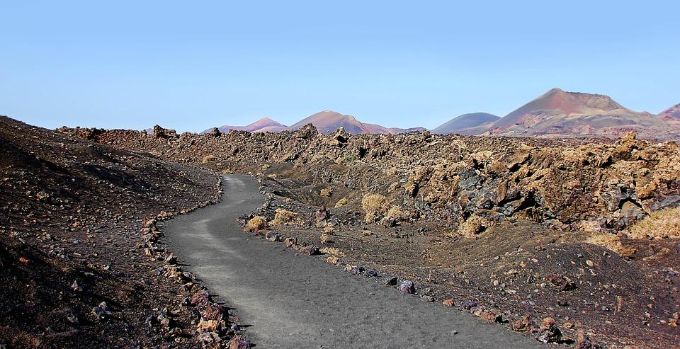 Lanzarote, Volcanoes, Volcanic, Canary Islands