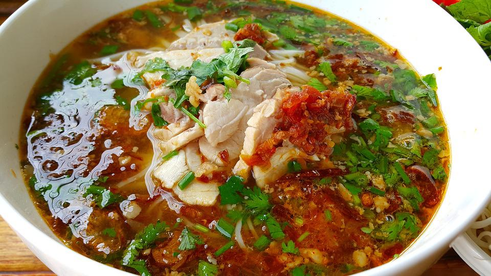 Asian Food, Khao Soi, Luang Prabang, Laos