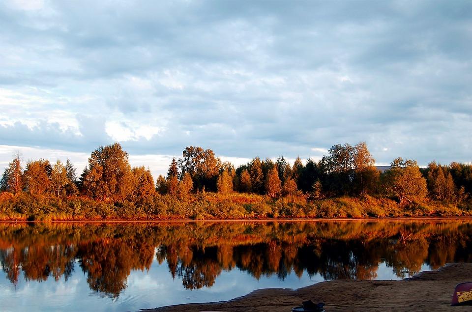 Lapland, Finland, Lapp, Forest, Nature, Lake, Landscape