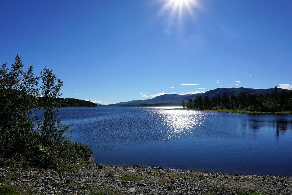National Park, Sweden, Laponia, Mountain, Lake