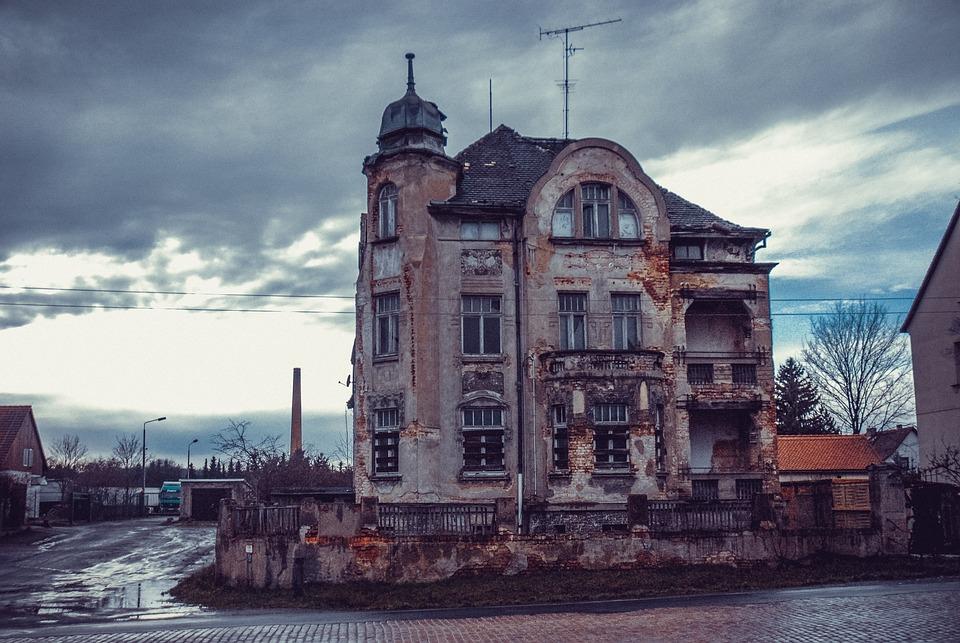 Haunted House, Old House, Abandoned, Lapsed, House, Old
