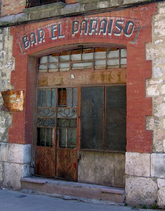 Bar, Leave, Lapsed, Run Down, Old House, Spain