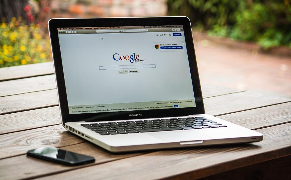 Macbook, Laptop, Google, Display, Screen, Work