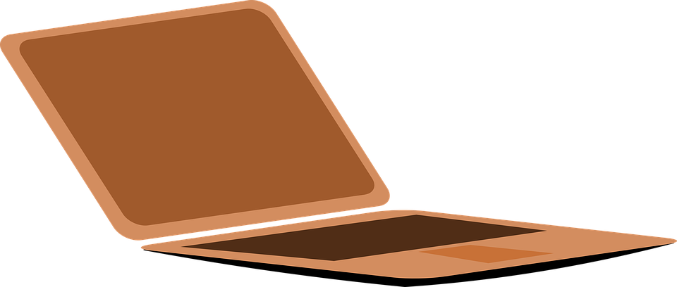 Computer, Laptop, Brown, Personal Computer, Technology