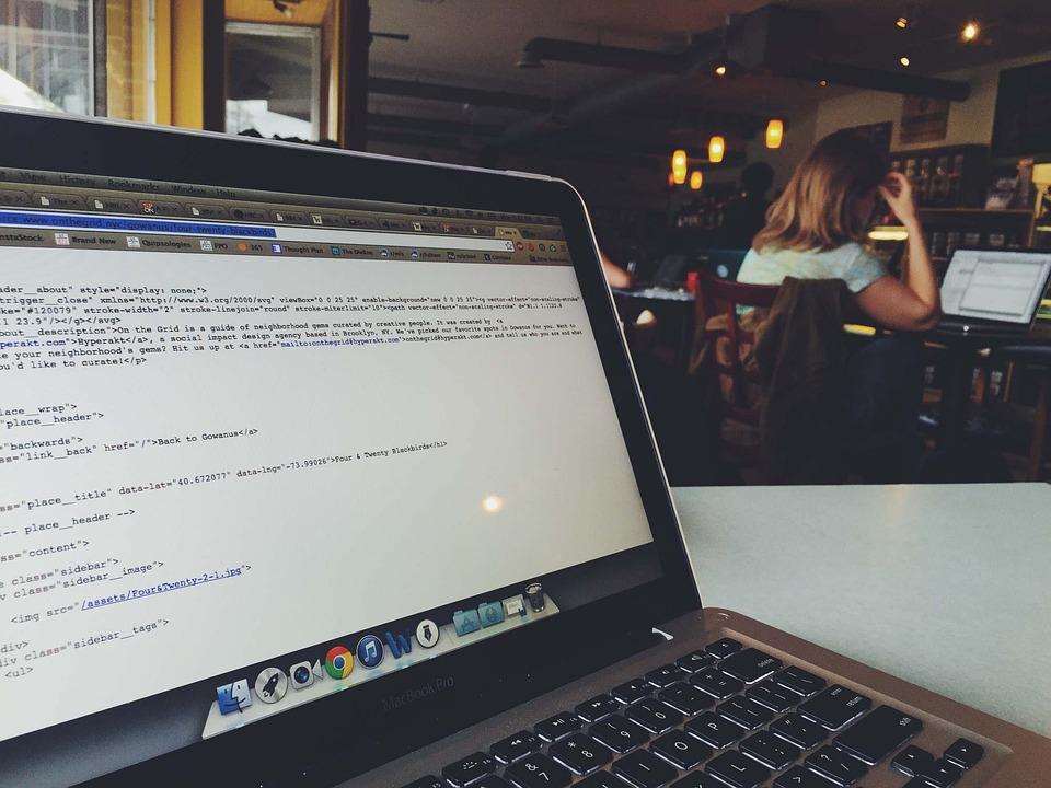Macbook, Laptop, Computer, Coding, Programming