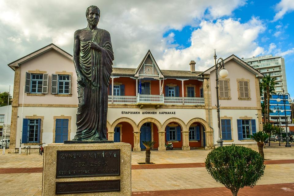 Cyprus, Larnaca, Administration Building