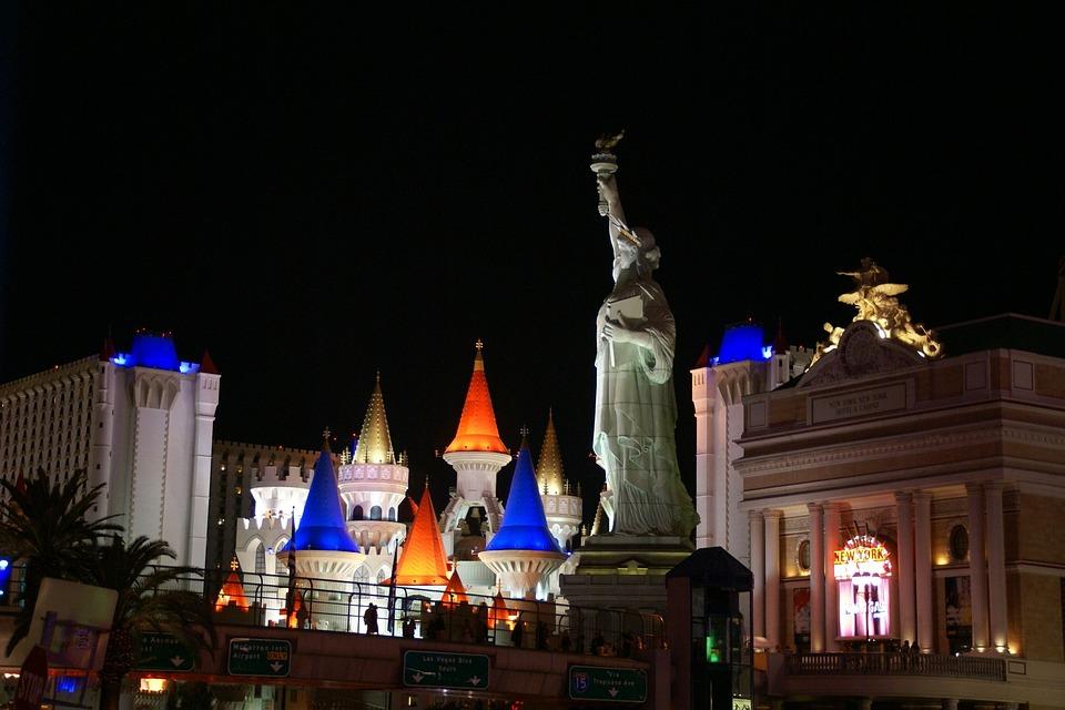 Excalibur Hotel, New York Hotel, Las Vegas