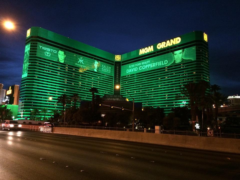 Las Vegas Strip, Mgm Grand, Hotel, Gaming, Gambling