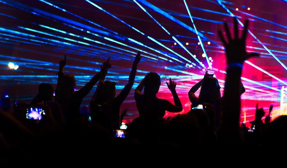 Laser, Festival, Techno, Light Show, Laser Show, Light