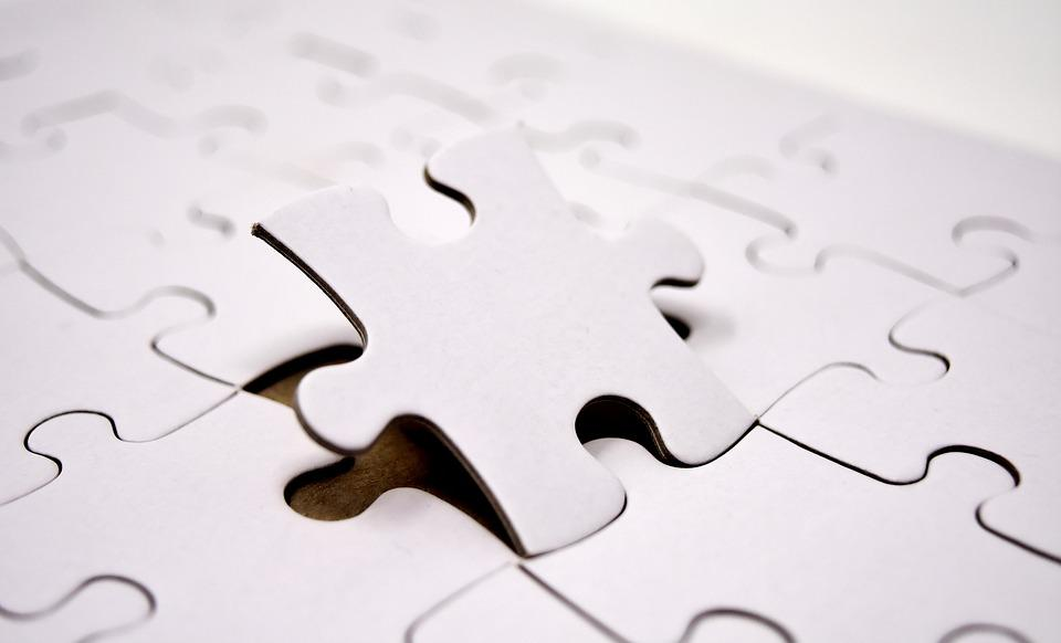 Puzzle, Last Part, Joining Together, Insert, Share