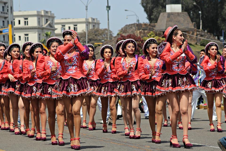 Dance, Latin, Peru, Andes, Culture, Lima, Festival