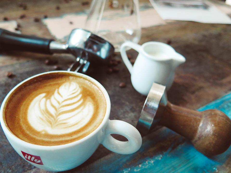 Coffee, Latte, Art, Espresso, Steamed Milk, Coffee Shop
