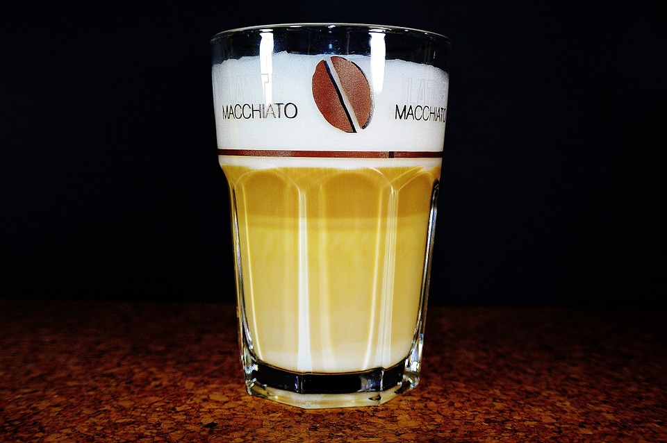 Coffee, Glass, Benefit From, Drink, Latte Macchiato