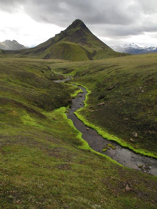 Laugavegur, Colorful Mountains, Tundra, Mountain