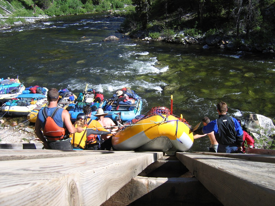 Rafting, Salmon River, Launch, Ramp