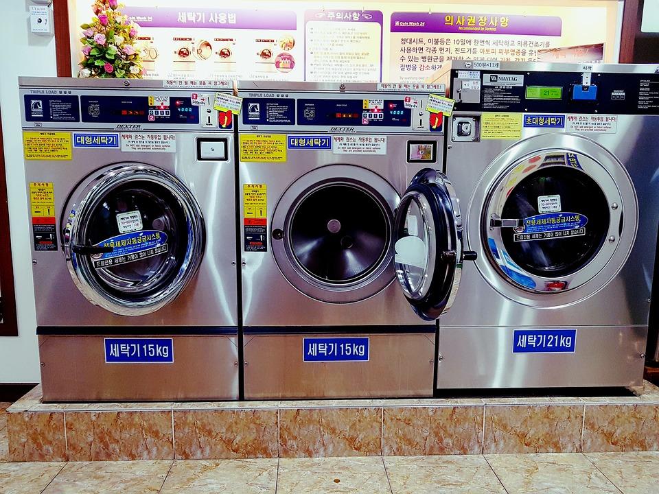 Washing Machine, Laundromat, Laundry