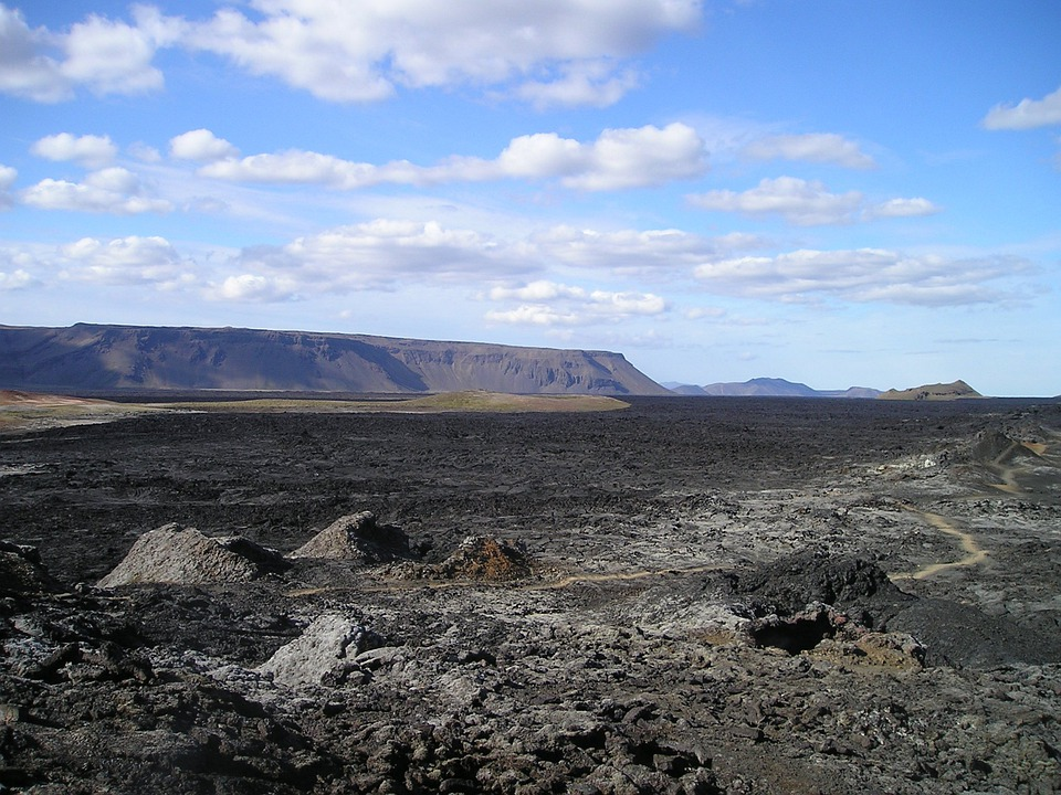 Volcano, Lava, Lava Flow, Volcanism, Iceland