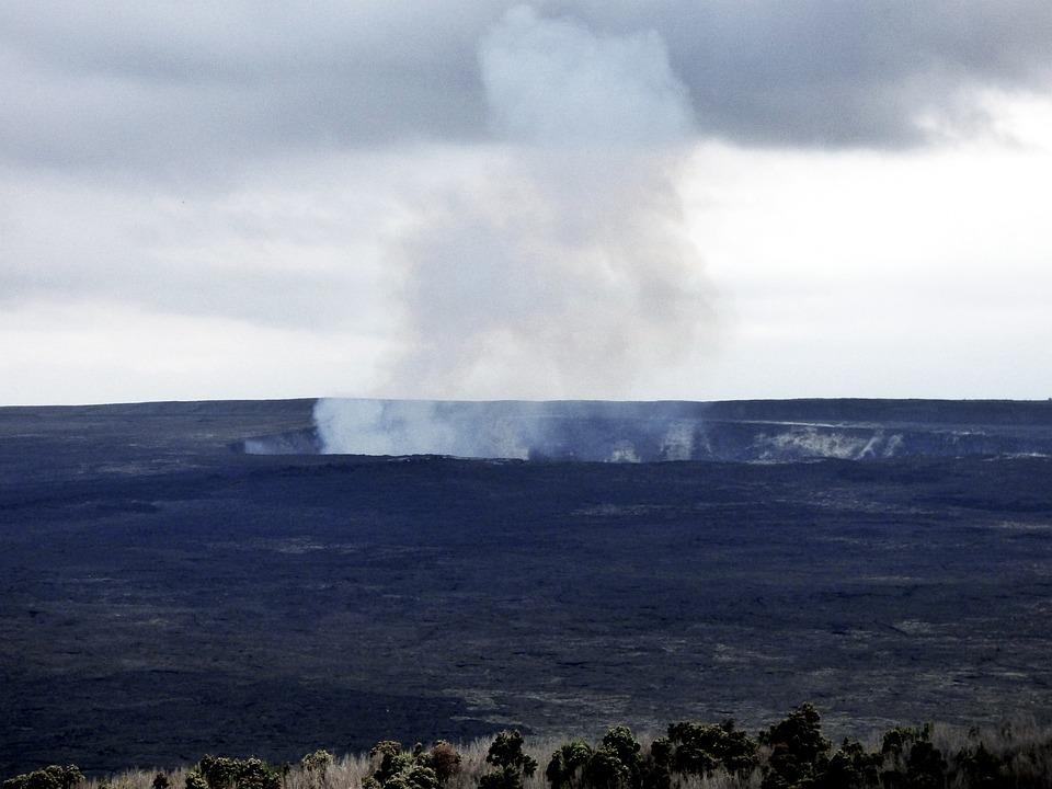 Volcano, Hawaii, Kilauea, Landscape, Travel, Lava